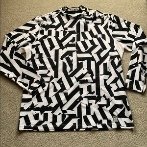 Nike Pro combat hyperwarm turtleneck shirt